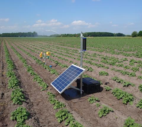 Medusa soil moisture sensor gSMS