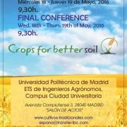 Uitnodiging Crops fot Better Soil