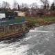 Foto: de gammaspectrometer bij de Bode rivier in Duitsland