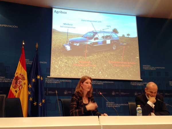 Medusa presenteert de bodemresultaten op de Final Conference in Madrid