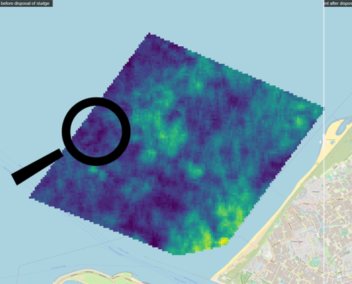 Kaart van zeebodem