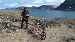 GPR mapping of Permafrost