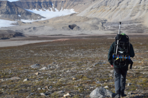 Mapping Permafrost with an MS-1000 gamma spectrometer